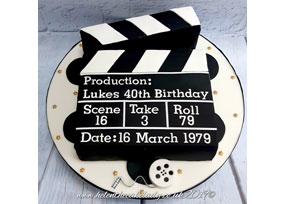 Clacker Board Film Cake