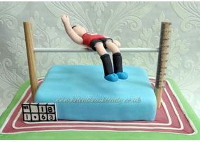 High Jumper 18th Birthday Cake