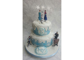 2-tier Frozen Cake for Childre
