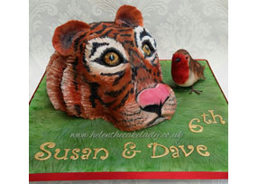 Tiger and Robin Cake!