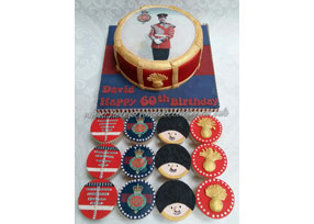 Grenadier Guard Cake