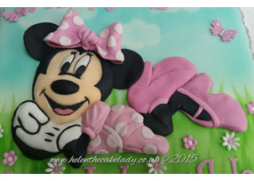 Minnie Mouse in Meadow