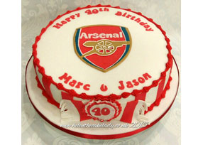 Arsenal Themed 40th