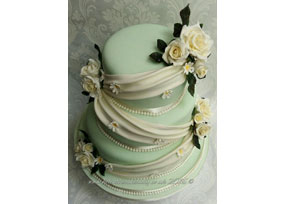 Mint and Ivory Swag Wedding Ca