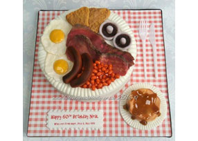 English Breakfast Cake