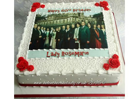 Downton Abbey Birthday Cake