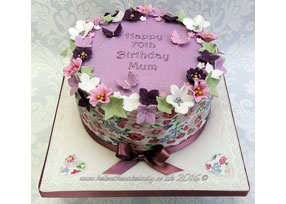 Mum 70th Birthday Cake
