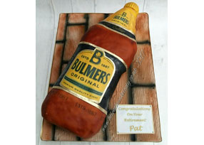 Natch and Bulmers Bottle 3d Ca