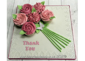 Thank you Cupcake Bouquet