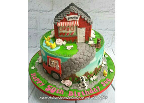Reversible Cake for a lady