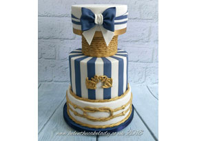 Nautical Navy and Gold Wedding