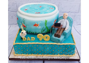 Bespoke 90th Cake