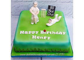 Men's - 80th cricket Themed Ca