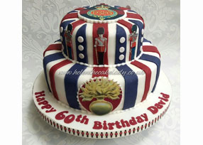 Grenadier Guard 2-tier Cake