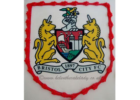 Bristol City football cake