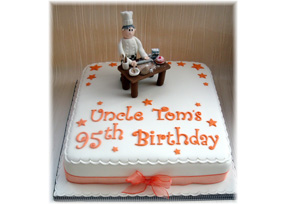 Chef 95th Birthday Cake