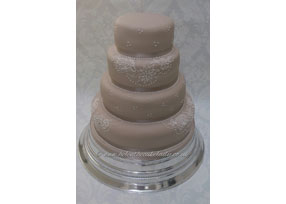 4-tier Caramel Lace