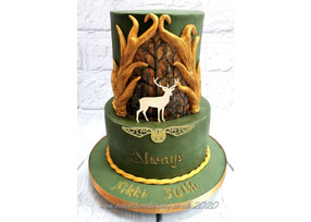 Harry Potter Stag Cake