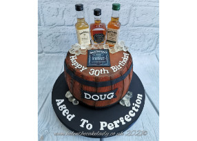 JD Barrel Cake