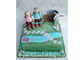 Ramblers 60th Birthday Cake