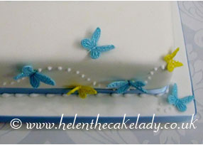Lemon and Blue Butterfly