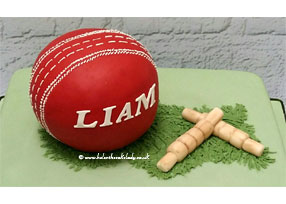 Cricket Ball and Wicket Stumps