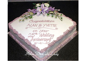 Lilac themed 25th Anniversary