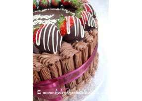 Strawberry and Chocolate Flake